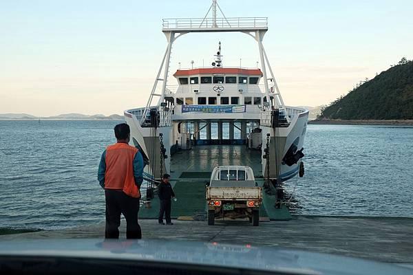 宋孔碼頭搭渡輪