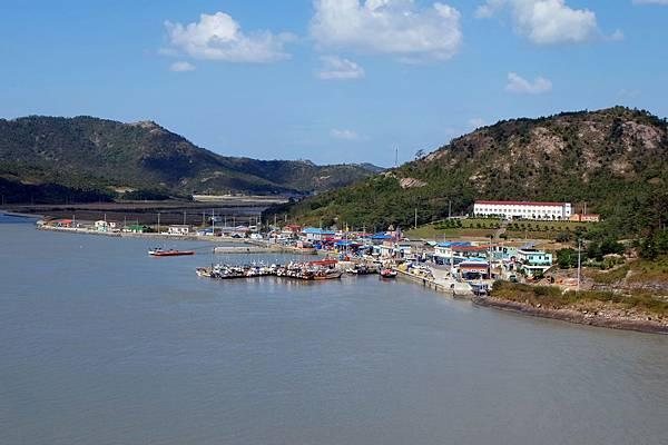 橋上看飛禽島水大港