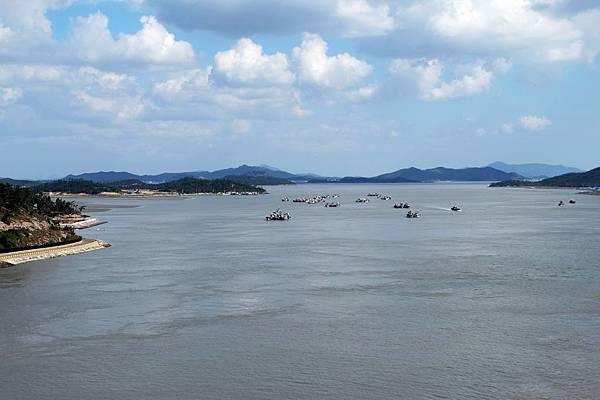 西南門大橋上看群島與內海