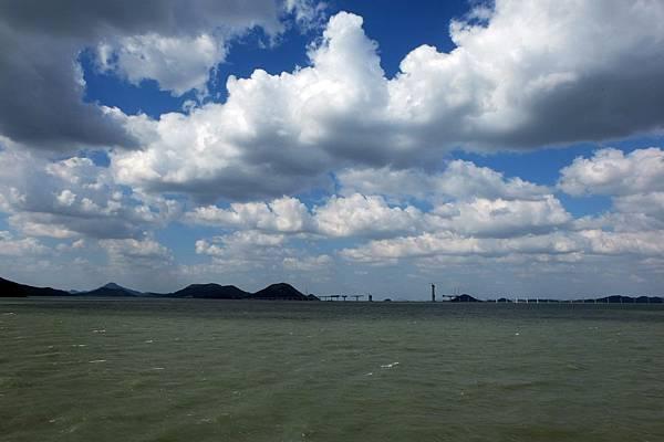 「木浦-飛禽島」內海風景
