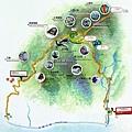 里龍山步道Map