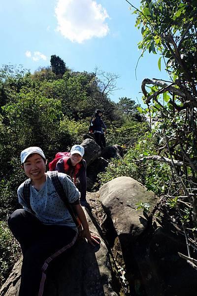 稜線攀岩趣