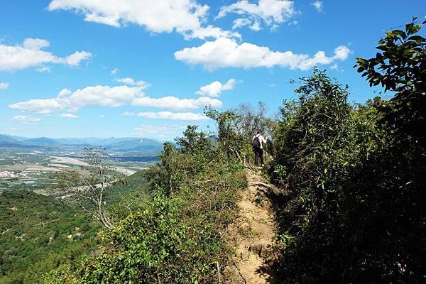 稜線上的山徑