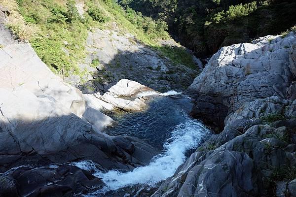 太古拉筏瀑布上方水潭