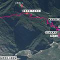 瑪家秘境探路GPS路線地圖