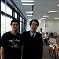 與日本職棋林耕三六段合影