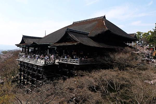 清水寺本堂與舞台