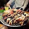 大阪美食「炭火燒肉力丸放題」