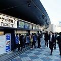 大阪京瓷巨蛋2號售票口