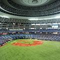 從外野看大阪京瓷巨蛋球場