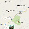 谷關七雄Map