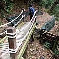 唐麻丹山步道遇木橋