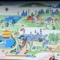 鹿苑寺內地圖