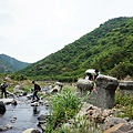 開始徒步枋山溪河床
