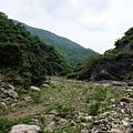 枋山溪河谷風景