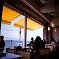 bills七里濱店二樓可以看海