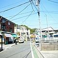 往稻村崎站的路