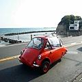 鎌倉高校前往腰越海邊遇可愛的車