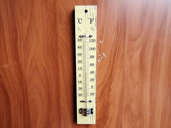 排雲山莊溫度計