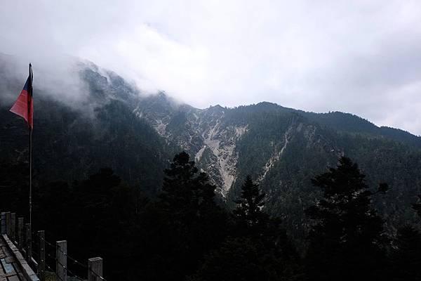 排雲山莊展望風景