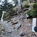 玉山西峰步道2km