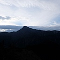 玉山主峰稜線輪廓