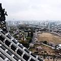 姬路城大天守閣往南方俯瞰風景