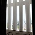 大天守閣窗外有柱子