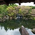 「御屋敷の庭」一景