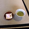 日式抹茶與和菓子