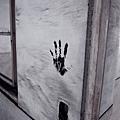 牆上的手印