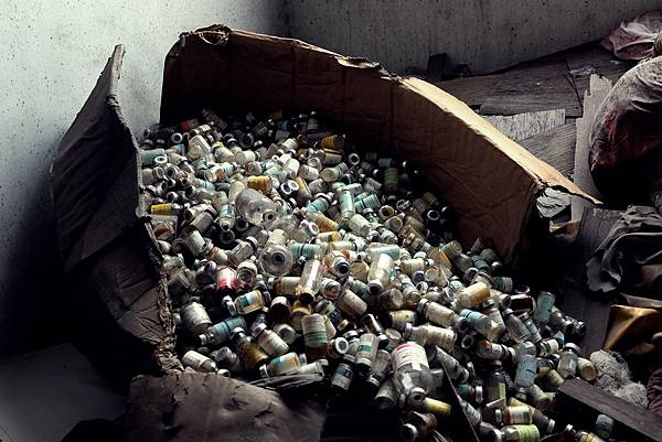 空的藥罐子