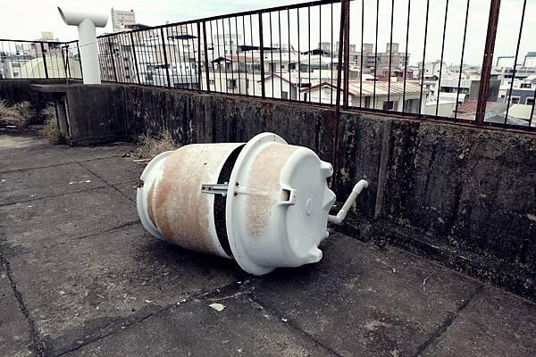 敗壞的水塔
