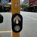 行人要過馬路請記得按鈕