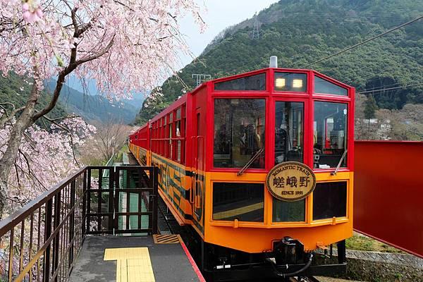 嵯峨野觀光鐵道-嵐山小火車