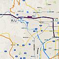 JR嵯峨野線「京都-馬堀」Map