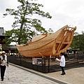 造船展覽現場