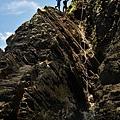 攀登山壁路徑