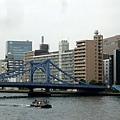 隅田川上的清洲橋