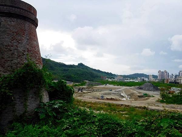 俯瞰台泥鼓山廠廠區