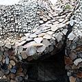 玉石貼疊表面