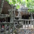 美麗石頭廟一角