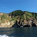 龜山島南岸