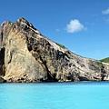 龜山八景「海底溫泉湧上流」