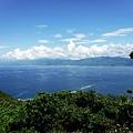 第1000階涼亭眺望台灣本島