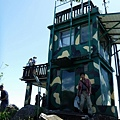 兩層樓哨所改建成瞭望台
