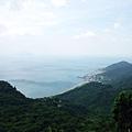 「大里-埡口」眺望海岸風景
