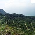 草嶺線俯瞰「大里-埡口」路線蜿蜒