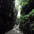 盤龍峽谷一景