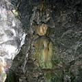 盤龍峽谷中的猴神石雕